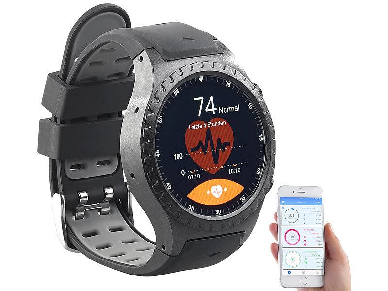newgen medicals gps handy uhr smartwatch f r ios android bluetooth herzfrequenz. Black Bedroom Furniture Sets. Home Design Ideas