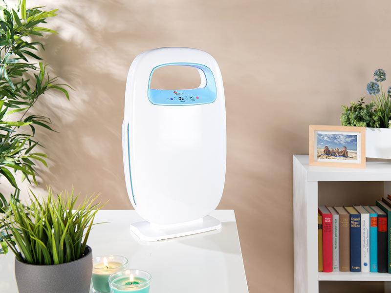 Kühlschrank Ionisator : Newgen medicals stufen luftreiniger mit filtern und ionisator