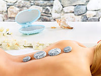 newgen medicals Hot-Stone-Massage-Set mit 4 Steinen