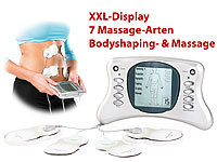 newgen medicals Premium Bodyshaping & Massage-Gerät ESG-4013, grafisches XXL-Display