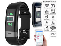 newgen medicals Fitness-Armband, Blutdruck-/Herzfrequenz-/EKG-Anzeige, Bluetooth, App; Fitness-Armbänder mit Bluetooth Fitness-Armbänder mit Bluetooth Fitness-Armbänder mit Bluetooth Fitness-Armbänder mit Bluetooth