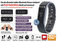 newgen medicals Bracelet fitness FBT-55 avec affichage des notifications et bluetooth