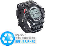 newgen medicals Outdoor-Fitness-Smartwatch, Benachrichtigungen, IP67, (refurbished)